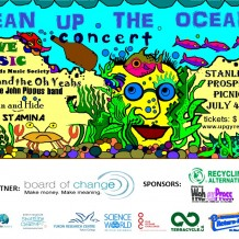 Clean Up the Oceans Poster - Supporters V13